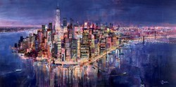 Glow With the Flow by Tom Butler -  sized 72x36 inches. Available from Whitewall Galleries